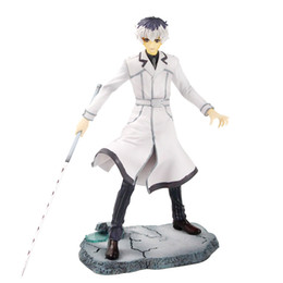 kaneki figure UK - 22 cm New Promotional price anime figure Tokyo Ghoul kaneki ken action figure collectible model toys