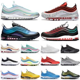 $enCountryForm.capitalKeyWord Australia - Newest 2019 Running shoes for men women Tie Dye Silver Bullet triple black CLEAR EMERALD NEON SEOUL mens trainer fashion sneakers runners