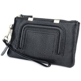 Ladies hand waLLet smaLL online shopping - Belle2019 Wallet Small Change Genuine Leather Take Ma am Concise Hand Catch Package