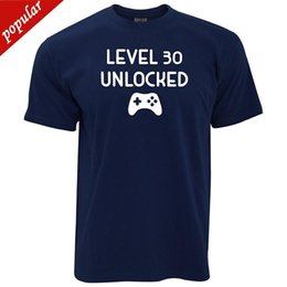 $enCountryForm.capitalKeyWord Australia - Level 30 Unlocked Birthday Gift For Gamers Gaming Controller Level Up 30 Year Old Pc Console New Brand Casual Clothing