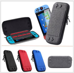 $enCountryForm.capitalKeyWord Australia - For Nintendo Switch Console Case Durable Game Card Storage Bag Carrying Case Hard EVA Bag shell Portable Carrying Bag Protective Pouch