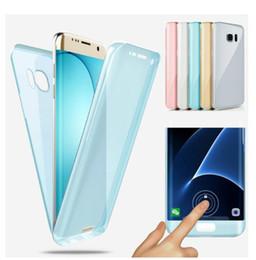 Vente en gros Coque TPU souple de 360 degrés pour la couverture complète du corps pour Samsung Galaxy S10 Plus S10E NOTE10 Pro M20 M30