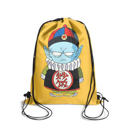 $enCountryForm.capitalKeyWord UK - Drawstring Sports Backpack Anime Pilaf Dragon Ball Z popular daily school Pull String Backpack