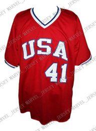 $enCountryForm.capitalKeyWord Australia - Cheap Custom Marc McGwire Team USA Retro Baseball Jersey Red Stitched Any player jersey college baseball jersey XS-5XL