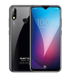 """Wholesale OUKITEL Y4800 6.3"""" FHD+ Waterdrop Android 9.0 Pie 6GB 128GB Smartphone Fingerprint 4G 4000mAh 9V 2A Quick Charge Mobile Phone"""