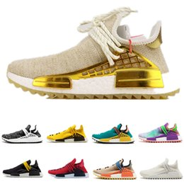 cac686dff Yellow Box Boots Australia - 2019 New Top NMD Human Race Mens Running Shoes  With Box