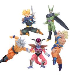 $enCountryForm.capitalKeyWord Australia - Cheap & Toy Figures 20cm Dragon Ball Z gifures BWFC Super saiyan DBZ Sculture son goku PVC Action Figure Kid