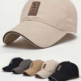 Black Blocks Australia - Hats men and women spring summer cotton baseball caps fall winter Korean sports sun hats duck hats sun block hat