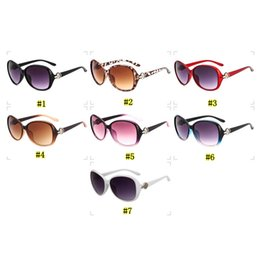 frames for round faces 2019 - fashion trend sunglasses for women 8016 big frame round nice face sunglasses retro sunglasses 7 colors MMA1855-1 cheap f