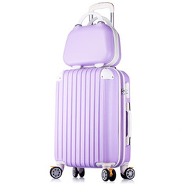fb3590d98 Womens Spinner Luggage Brake Expandable Luggage with Cosmetic Case Set Men  Large Capacity Hardside Pull Rob Box