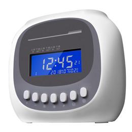 $enCountryForm.capitalKeyWord Australia - Electronic time clock Attendance machine Microcomputer paper card clock Work paper card sign in