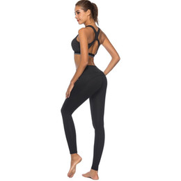 $enCountryForm.capitalKeyWord UK - Sexy High Waist Black Stretch Slimming Workout Gym Sport Running Fitness Women Leggings Pantalones Yoga Pants With Pockets #135044