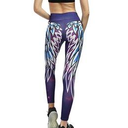 $enCountryForm.capitalKeyWord NZ - Needle Six Line Digital Print Yoga Thread Pants and Hips High Waist Thread Pants seamless leggings fanatic excercise
