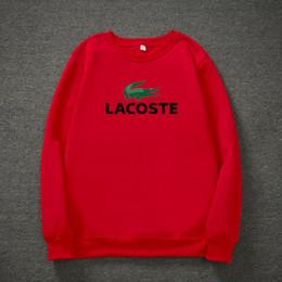 4c7331067cff50 Marke Männer Frauen LACOSTE Cartoon Langarm T-Shirts Polos Tees MÄNNER Mode  Luxus Design Casual T-Shirts Shirts Polo Shirt Tops