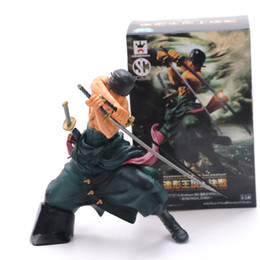 one piece toys 15cm NZ - Japan One Piece Anime Figures New World Figuarts Zero Roronoa Zoro Action Figures Top Battle PVC Model Kids Toys 15cm