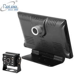 Wholesale Car DVR Camera Dual Lens channel P Dashcam Rear Camera lens Voltage V Truck Bus Taxi Car Monitor