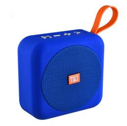 $enCountryForm.capitalKeyWord Australia - QiChen Portable Bluetooth Speaker Stereo Sound with Handle Wireless Mini Soundbox Outdoor Sport Loudspeaker TG505 Amplifer for Smart Phone