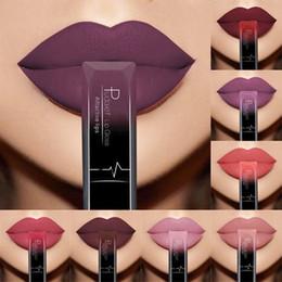 $enCountryForm.capitalKeyWord Australia - 21 Color Matte Lipstick Waterproof Velvet Lip Stick Long Lasting Shimmer Nude Brown Lips for Women Red Lip Hot Sale Lipstick Set