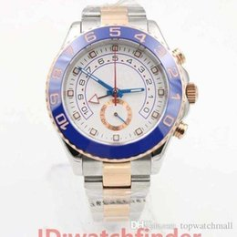 geneva ceramic analog watch 2020 - Luxury Ceramic Bezel Rose Gold Mens gmt Automatic movement designer Blue 116688 Sport Wristwatches Men Geneva Watch Mast