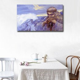 $enCountryForm.capitalKeyWord Australia - The Old Man Oil Painting Canvas Posters Prints Wall Art Painting Decorative Picture Modern Kitchen Bedroom Home Decoration