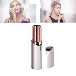 Face Body Epilator Australia - Mini Lipstick Electric Epilator Hair Remover Painless Trimmer Tool Shave Body Face Hair Remover for Women Female Hair Removal Razor with Box
