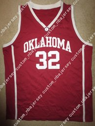 794369ff91b5 Cheap custom Oklahoma Sooners  32 Basketball Jersey Stitched Customize any  number name MEN WOMEN YOUTH XS-5XL