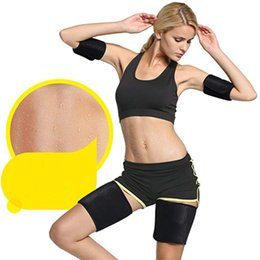 thigh pads Australia - Leg Warmer Women Men High Elastic Anti Chaffing Protection Thigh Bands Leg Sport Warmers Unisex