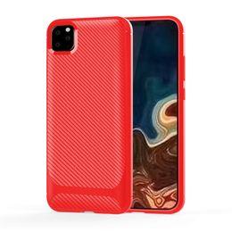 Para one plus 6 t 7 pro iphone huawei xiaomi tpu de carbono de volta capa case malote frete grátis varejo venda por atacado