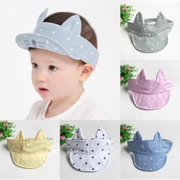 2360aa3cf0318 New Soft Cute Cartoon Cat Kids Baseball Cap Infant Boy Girl Beanies Soft Caps  Sun Hat Comfortable Touch High Quality Gift