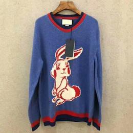 $enCountryForm.capitalKeyWord Australia - New Luxury Rabbit Cartoon Wool Sweater Tops Fashion Pullover Long Sleeve Trend Spring Autumn Casual Street Outwear Hoodies Hfymwy066