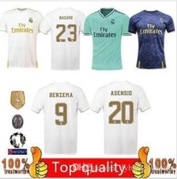 fbfd74f541 New 19 20 real madrid kids men designer t shirts soccer jersey Football  Shirts 2019 2020 Asensio BALE ISCO camiseta de fútbol maillot de foo