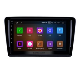 Volkswagen Gps Inch Australia - 9 Inch Android 9.0 Car Radio for 2012 2013 2014 2015 VW Volkswagen SANTANA with Bluetooth GPS navigation WIFI support car dvd 3G 4G OBD2 DVR