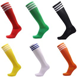 Towel socks online shopping - 2019 Stockings Sports Socks Anti Skid Football Sock Towel At The End Male Colorful Comfortable Cutton Soccer