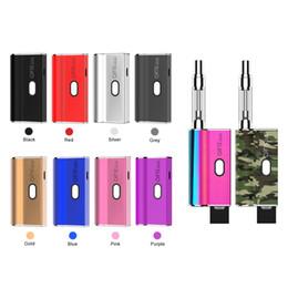 Vape single battery online shopping - Original Airis Janus Box Mod Vape Mod Battery E Cigarette Battery With Two Connections for Cartridges Thick Oil Pods mAh VV Battery