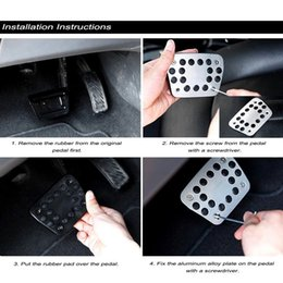 $enCountryForm.capitalKeyWord Australia - 3PCs Manual Brake Pedal Sport MT Interior Non Slip Pedal Kit For Focus 2 Focus 3 Kuga Escape ST Auto Accessories