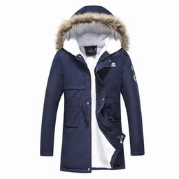 men cashmere hat Australia - men parkas Coat Hooded 2018 Men's Warm Korean Style Padded Jacket Male Hooded Casual Winter&Autumn Coats Add the cashmere parkas