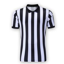 Herren Basketball Fußball Fußball Sport Schiedsrichter Schiedsrichter Schiedsrichter Shirt Jersey Kostüm Kurze Ärmel, Wicking und schnelles Trocknen im Angebot