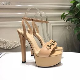 nude model women NZ - 2019Trend Heel shoes Mix models Wedding shoes Women Pointed Toe Studded Strappy Slingback Stilettos Leather Sandals Pumps 35-40