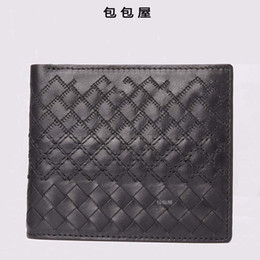Male Manual UK - Elegant2019 Fetus Weave Man Cowhide More Function Pure Manual Leisure Time Short Cross Section Male Wallet