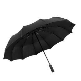 $enCountryForm.capitalKeyWord Australia - Rain gear Windproof Large Umbrella Men Women Three Folding Anti-UV Windproof Rain Umbrella women mini UV Sunny