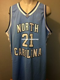 434031cce Cheap custom Carolina Basketball Jersey Heels NCAA Stitched Customize any  number name MEN WOMEN YOUTH XS-5XL