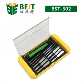 $enCountryForm.capitalKeyWord Australia - BST-302 14 in 1 Screwdriver set Slotted Precision Magnetic Opening for iPhone Macbook Smartphone Repairing mini tool Screwdriver