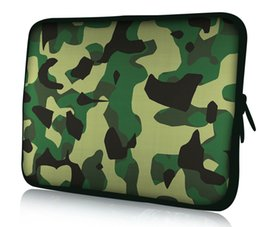 "Neoprene Sleeve Macbook Australia - Camouflage Laptop Sleeve Case For Macbook Laptop AIR PRO Retina 11"",12"",13"",14 15 15.6 inch, Notebook Bag 14"", 13.3"",15.4"""