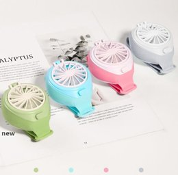 summer home decor 2020 - Mini Watch Fan Portable Portable USB Charging Handheld Small Fan Kids Gift Summer Cooling Fan for Office Travel Home Dec