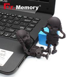 64 Gb Flash Drive Australia - Dr.Memory USB Flash Drive Cool 64 GB 32 GB 16 GB 8 GB USB 2.0 64GB 32GB Skeleton USB Flash Memory Pen Drive Stick Captain America Pen Drives