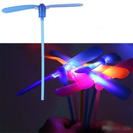LED Light Up Flashing Dragonfly Glow Flying Dragonfly Toys Kids Gift Fun YK