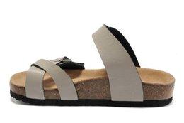 $enCountryForm.capitalKeyWord Australia - 2019 fashion casual sandals for men and womens summer beach flip-flops, platform leather comfortable home slippers