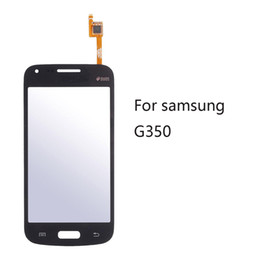 SamSung galaxy logo online shopping - 10pcs High Quality Touch Screen Glass Digitizer Panel Replacment Parts with LOGO for Samsung Galaxy Grand G350 G3502 V14 V15