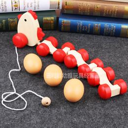 $enCountryForm.capitalKeyWord Australia - Novelty Games Hen Drag Eggs Toys Chicken Shape Play Wooden Creative Kids House Training Educational 17yy F1