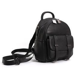 $enCountryForm.capitalKeyWord UK - Cute Leather Ladies Shoulder Bag Top Layer Leather High-grade Small Backpack Girl Temperament Casual Handbag Natural Bag